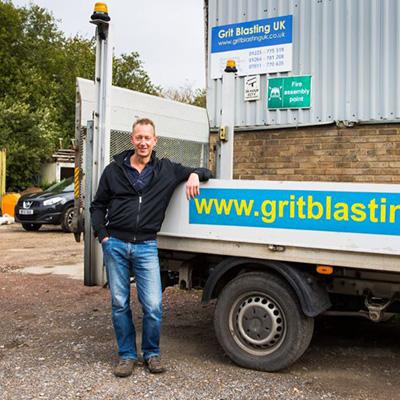 Gritblasting